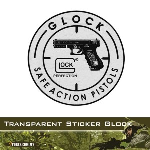CAR STICKER, WIND SCREEN, GLOCK (STICKER7022)