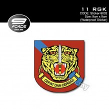 Sticker Waterproof 11 RGK - Sticker9002
