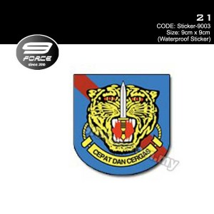 Sticker Waterproof 21 - Sticker9003