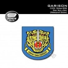 Sticker Waterproof GARISON - Sticker9006