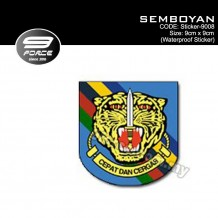 Sticker Waterproof Semboyan - Sticker9008