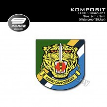 Sticker Waterproof KOMPOSIT - Sticker9011