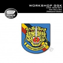 Sticker Waterproof WORKSHOP GGK - Sticker9012