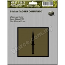 Sticker DAGGER COMMANDO - sticker9101