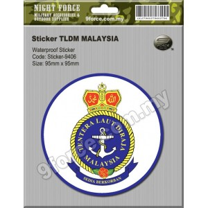 Sticker TLDM - sticker9406