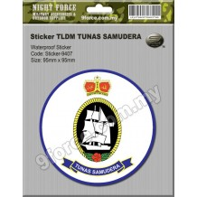 Sticker TLDM TUNAS SAMUDERA - sticker9407