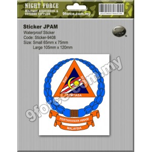 Sticker windscreen - JPAM - sticker9408C