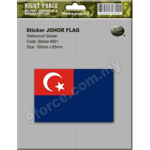 Sticker JOHOR Malaysia - sticker9501