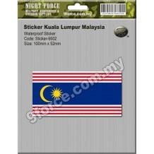Sticker Kuala Lumpur Malaysia - sticker9502