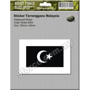 Sticker Terrengganu Malaysia - sticker9503