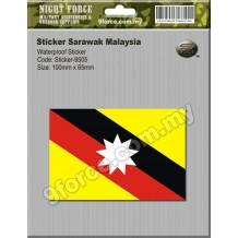 Sticker Sarawak Malaysia - sticker9505