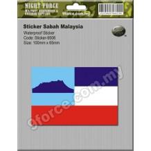 Sticker Sabah Malaysia - sticker9506