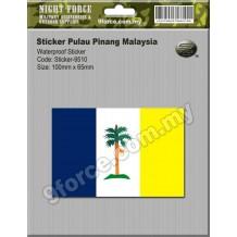 Sticker Pulau Pinang Malaysia - sticker9510