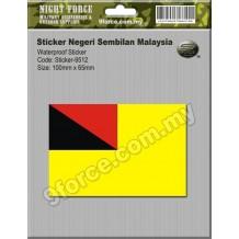 Sticker Negeri Sembilan Malaysia - sticker9512