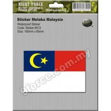 Sticker Melaka Malaysia - sticker9513