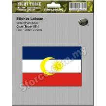 Sticker Labuan Malaysia - sticker9514