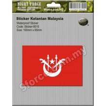 Sticker Kelantan Malaysia - sticker9515