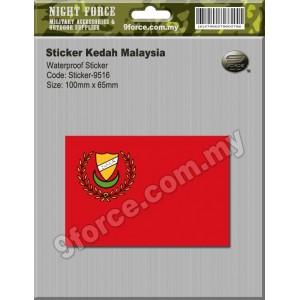 Sticker Kedah Malaysia - sticker9516