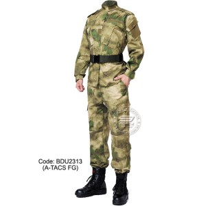 A-TACS FG - Military BDU (Battle Dress Uniform) Shirt + Pants, Polyester / Cotton Twill, Customize order, 2 weeks delivery (BDU2313)