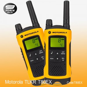 Motorola TLKR T80EX Twin Walkie Talkie (Weather proof)