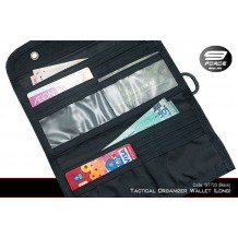 Tactical Organizer Wallet (Long) Black