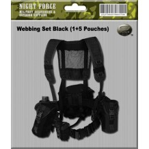 Tactical Webbing set (Black)