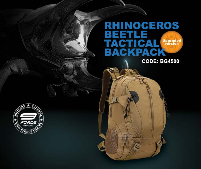 Rhinoceros Beetle Tactical Backpack