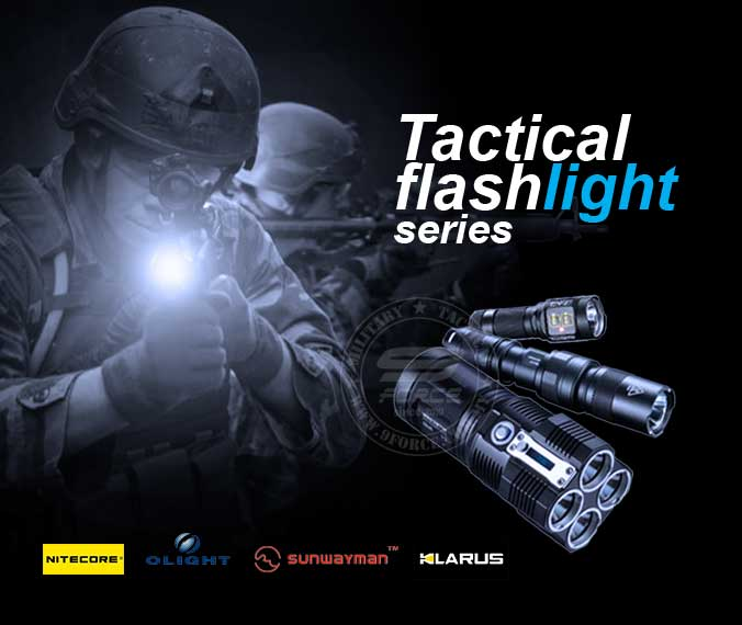 Tactical Flashlight Series