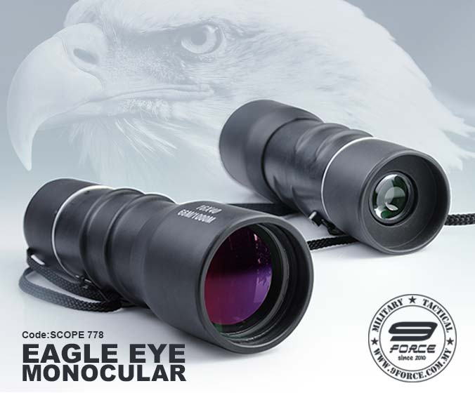 Eagle eye monocular SCOPE778