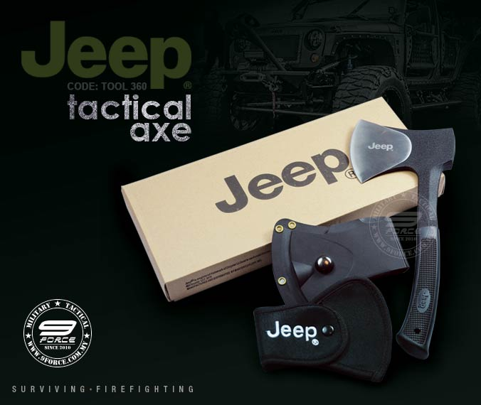 Jeep tactical axe