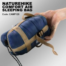 NATUREHIKE COMFORT AIR SLEEPING BAG - camp120