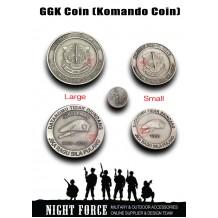GGK Coin , Souvenir Coin, Metal Coin, Comando Coin Malaysia