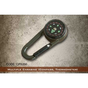 Multiple Carabine (Compass, Thermometer)- CPS200