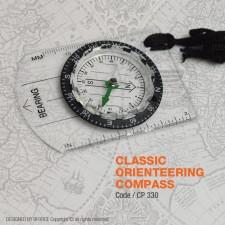 CLASSIC ORIENTEERING COMPASS - CP330