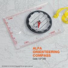 ALFA ORIENTEERING COMPASS - CP340