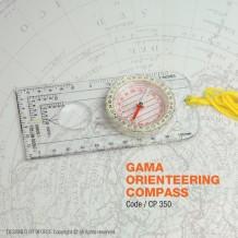 GAMA ORIENTEERING COMPASS - CP350