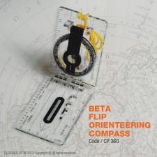 BETA FLIP ORIENTEERING COMPASS - CP360