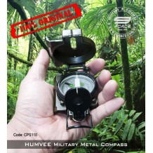 HUMVEE Military Metal Compass, 100% Original (CPS110)