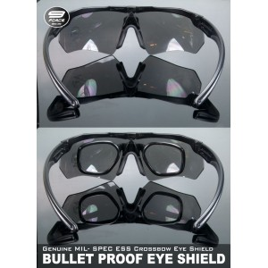 ESS CROSSBOW BULLET PROOF TACTICAL EYES WEAR (3 colors lenses)