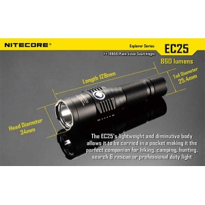 NITECORE EC25 FLASHLIGHT