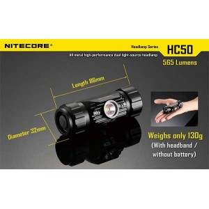 NITECORE HC50 FLASHLIGHT