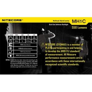 NITECORE MH1C FLASHLIGHT