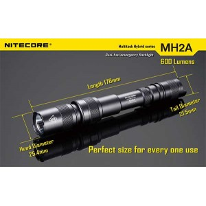 NITECORE MH2A FLASHLIGHT