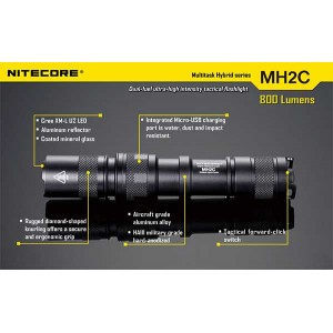 NITECORE MH2C FLASHLIGHT