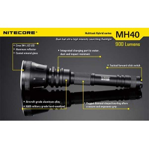 NITECORE MH40 FLASHLIGHT