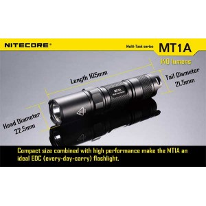 NITECORE MT1A FLASHLIGHT