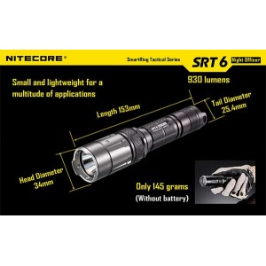 NITECORE SRT6 FLASHLIGHT