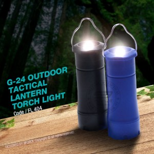 G-24 OUTDOOR TACTICAL LANTERN TORCH LIGHT - FL404