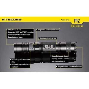 NITECORE P12 FLASHLIGHT