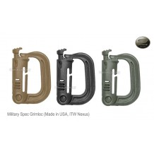 ITW Military Products Grimloc™ (Locking D-ring) US military spec